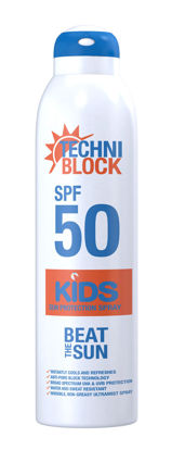 Picture of Techniblock SPF50 Sun Protection Kids Spray 300ml