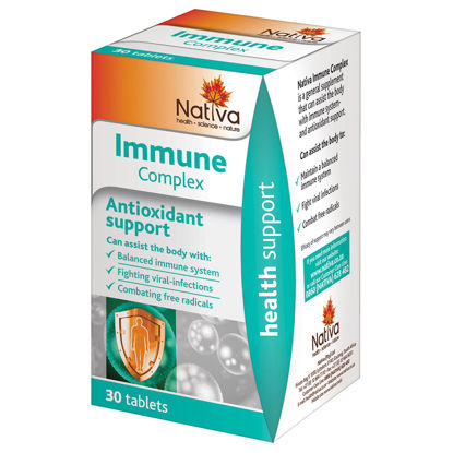 Picture of Nativa Immune Complex Tablets- 30's