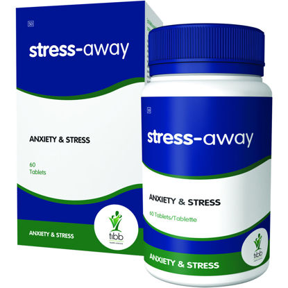 Picture of Tibb Stress-Away  Tablets 30's