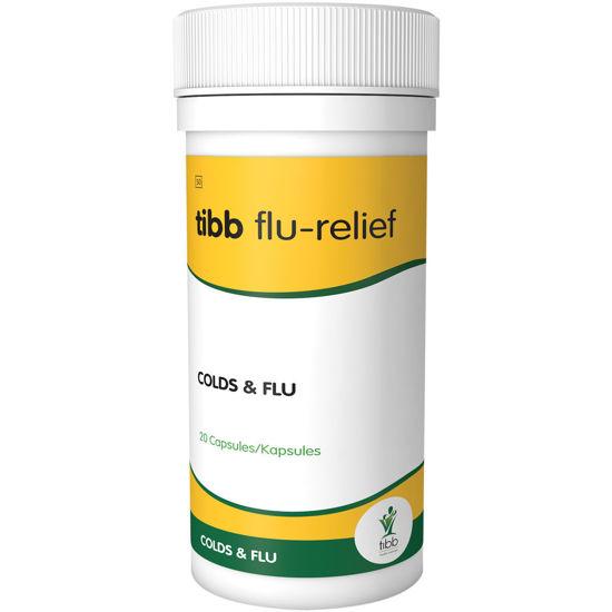 Picture of Tibb Flu-Relief Capsules 20's