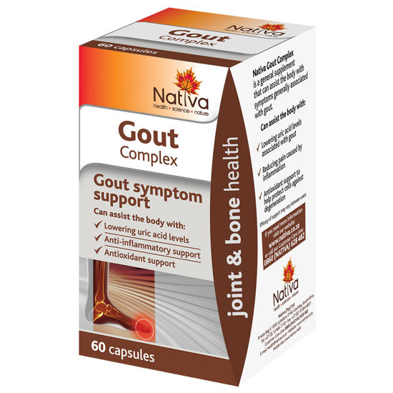 Picture of Nativa Gout Complex Capsules 60's