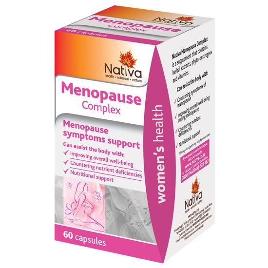 Picture of Nativa Menopause Complex Capsules 60's