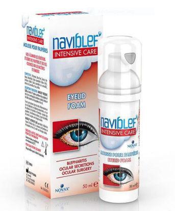Picture of Naviblef  IntensiveDaily Eye Lid Foam 50ml