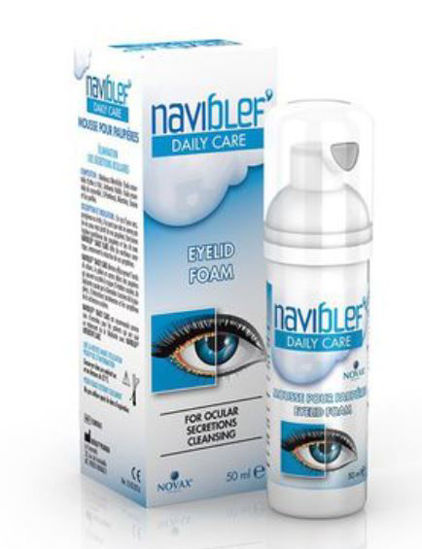 Picture of Naviblef Daily Care Eye Lid Foam  50ml