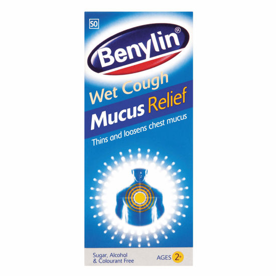 Picture of Benylin Wet Cough Mucus Relief 100ml