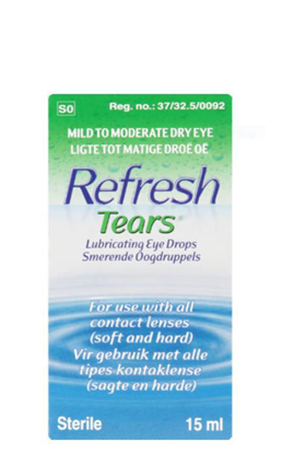 Picture of Refresh Tears Lubricating Eye Drops  15ml