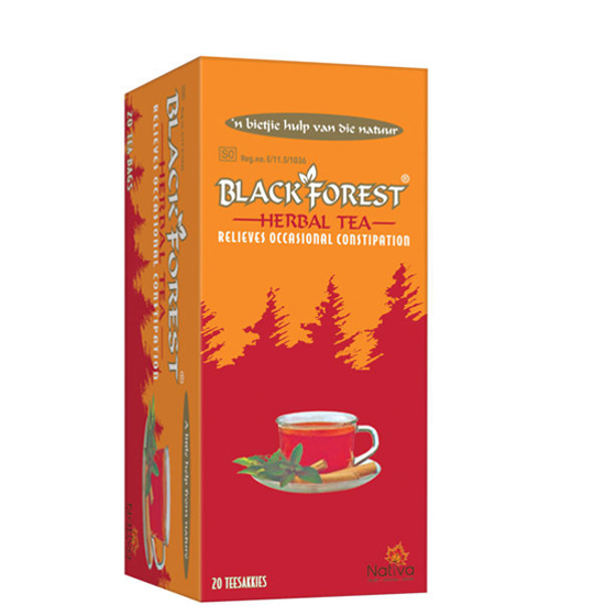 Picture of Black Forest Teabags Original 20's