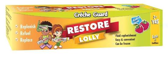 Picture of Créche Guard  Restore Lolly  5x50ml