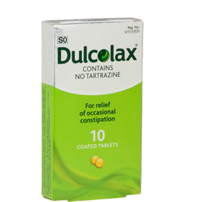 Picture of Dulcolax  5mg  Tablets 10's