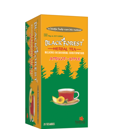 Picture of Black Forest Apple & Apricot  Teabags 20's