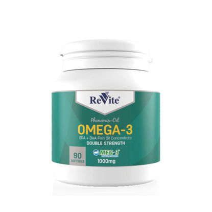 Picture of Revite Omega-3 Capsules 90's