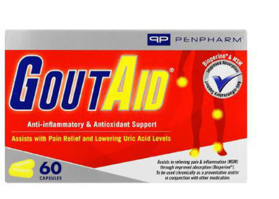 Picture of GoutAid Capsules 60's