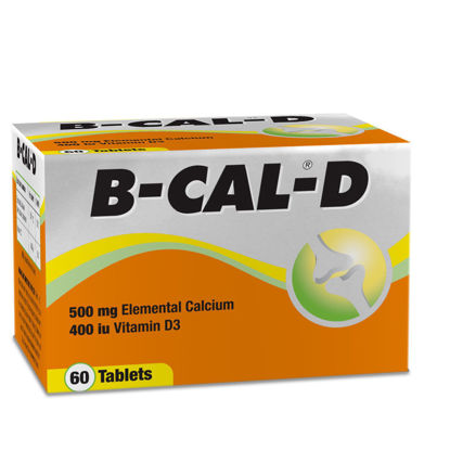 Picture of B-Cal D Tablets 60's