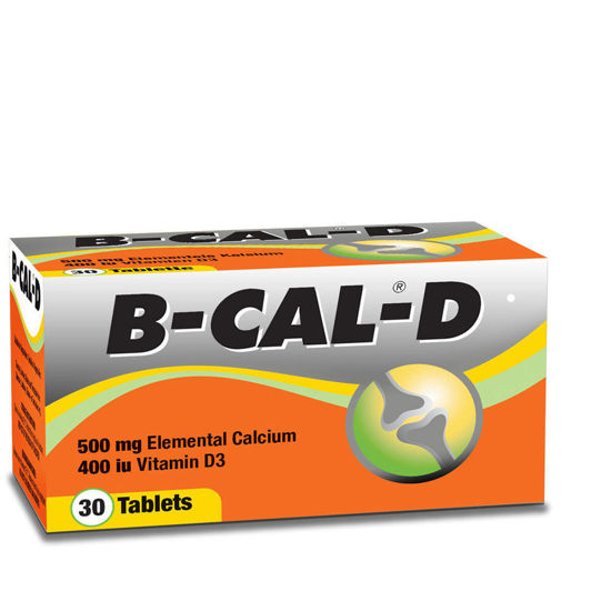Picture of B-Cal D Tablets 30's