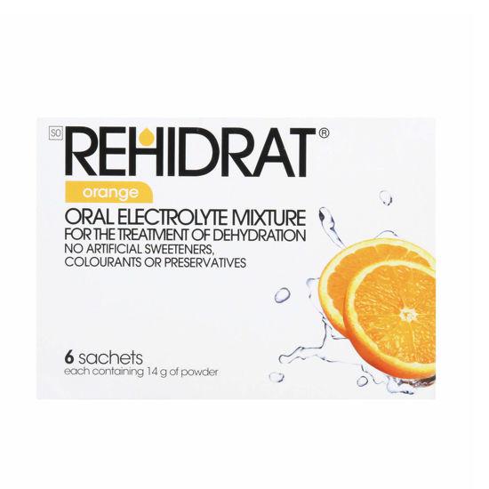 Picture of Rehidrat Orange Sachets 6's