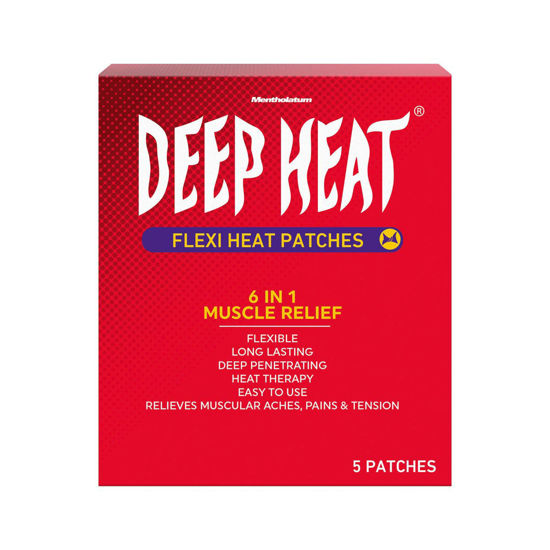 Picture of Deep Heat Pain Patch -Patches  5's