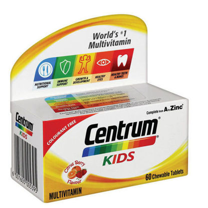 Picture of Centrum Kids Chew Tablets 60's