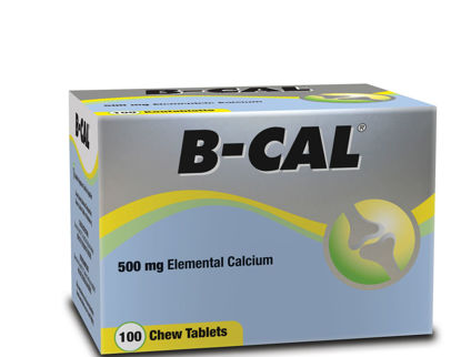 Picture of B-Cal 500mg Chewable Tablets 100's