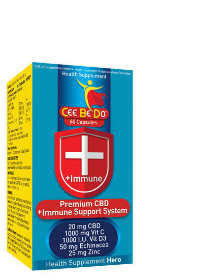 Picture of Cee Be Do  + Immune Capsules 60's