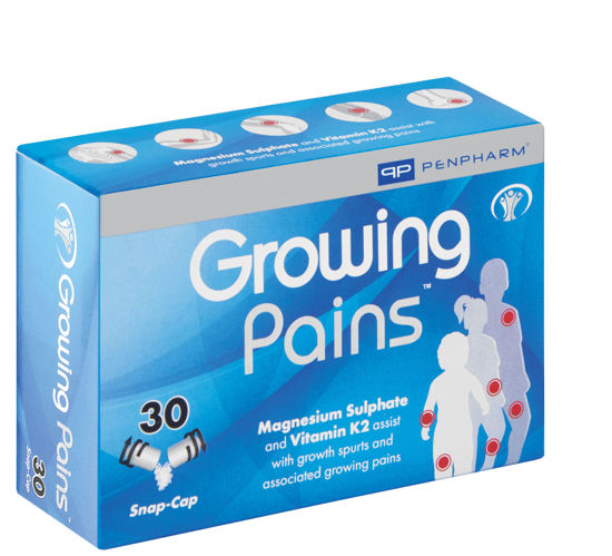 Picture of Growing Pains Capsules 30's