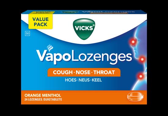 Picture of Vicks Orange Lozenges 24's