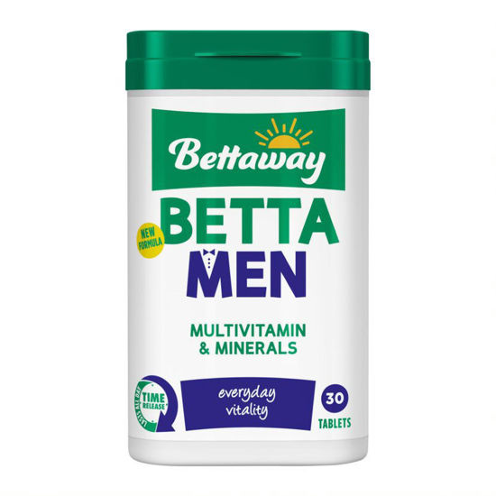 Picture of Bettaway Betta Men 30 Tablets