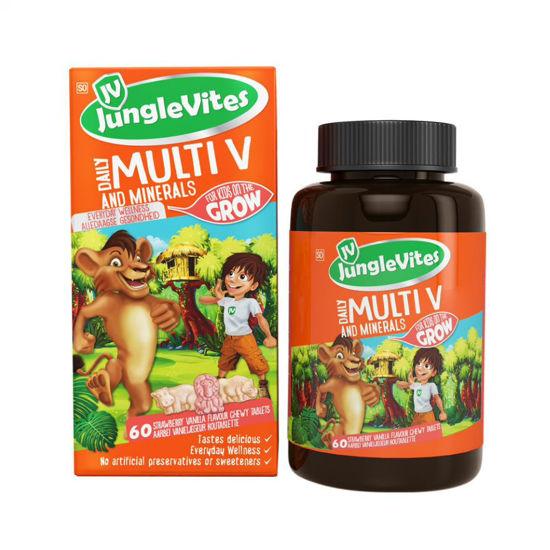 Picture of Junglevites Multi V Tablets 60's