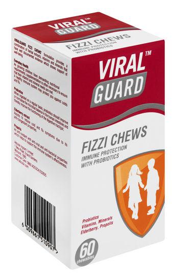 Picture of ViralGuard Junior Fizzie Chews 60's