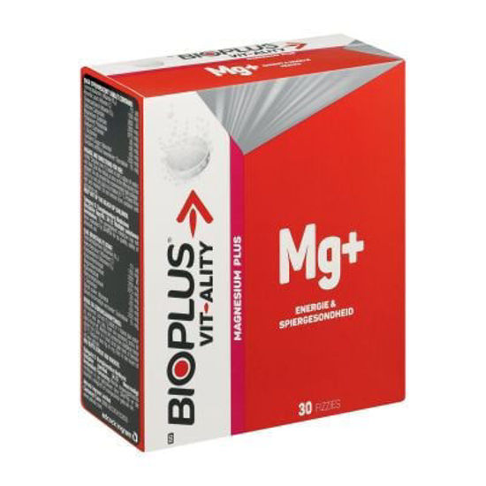 Picture of Bioplus Vit-Ality Magnesium Plus Effervescent Tablets 30's