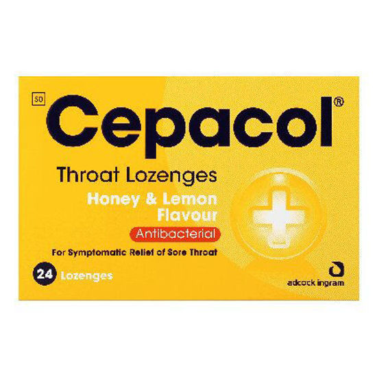 Picture of Cepacol  Honey and Lemon Lozenges 24's