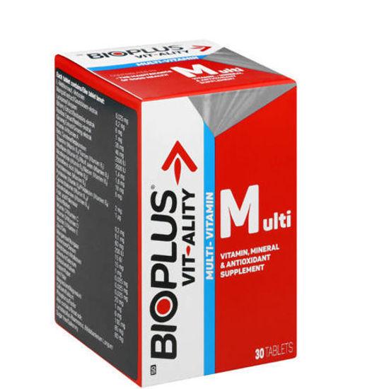 Picture of Bioplus Vit-Ality Multivitamin Tablet 30's
