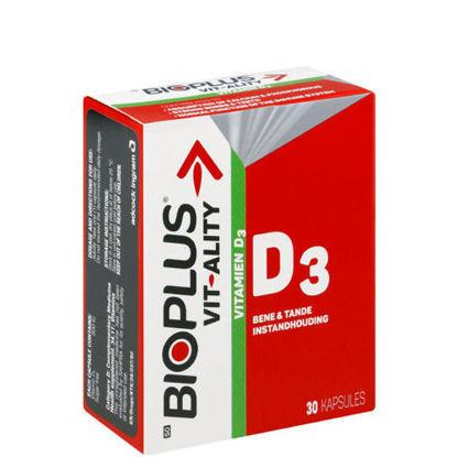 Picture of Bioplus Vit-Ality Vitamin D3 Capsules 30's