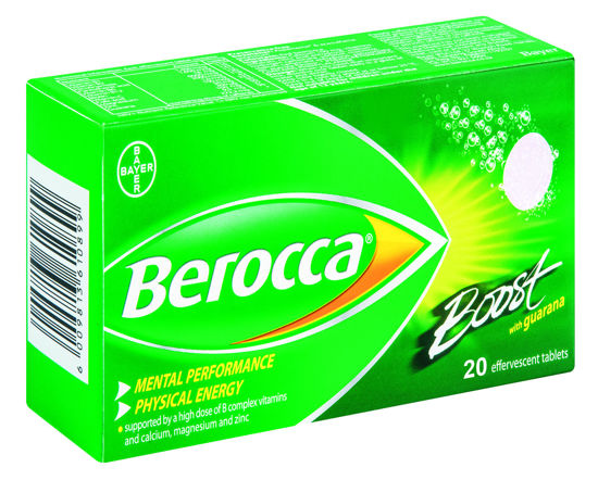 Picture of Berocca Boost Effervescent Tablets  20's