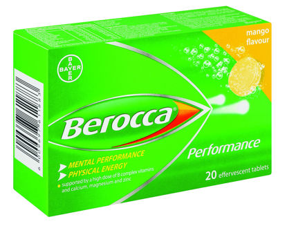 Picture of Berocca Performance Effervescent Tablets Mango 20's