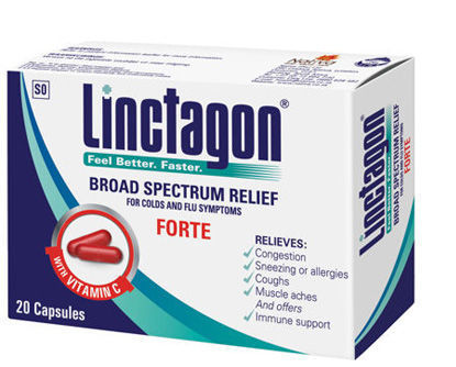 Picture of Linctagon Forte Capsules 20's