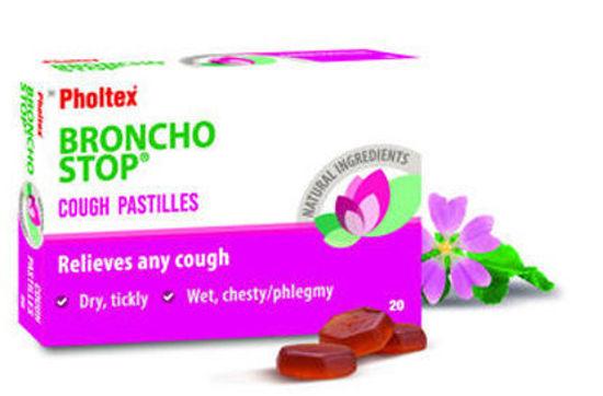 Picture of Bronchostop Cough Pastilles 20's